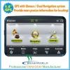 Dual system GPS and Glonass car navigation