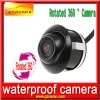 2012 Hot Universal Embedded car backup camera with rotated 360degree and super night vision and wide angle and 100% waterproof