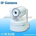 Wireless Indoor H.264 Mini PTZ IP camera