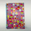 Promotion Paper Cover Cheap Spiral Notebook