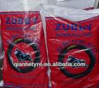 ZUBBY MOTORCYCLE TUBES ( 300/325-17 , 300/325-18, 250/275-17, 250/275-18)