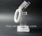 Acrylic chargeable security alarm display stand for mobile phone