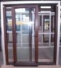 Ylj-68 Wood Aluminium Temperature-Saving and Sound Insulation Sliding Door