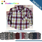 fashion long sleeve latest styles of boys shirts 103#