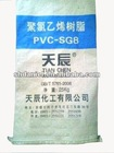 Pvc resin SG-8 ( raw metarial calcium carbide )