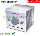 FOR IPAD SPEAKER Dock station Speaker box 2.1 Multimedia Docking Speaker for ipad iphone