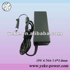 90W laptop adapter for HP 19V 4.74A 7.4*5.0mm