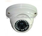 SONY / SHARP Color CCD Vandalproof IR Dome Camera