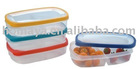 Seperated 2 grids PP plastic lunch box