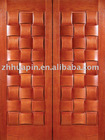 Luxury External wooden door,Solid wooden door,luxury double doors