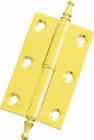 brass square corner hinge