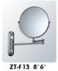 metal cosmetic shaving mirror