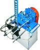 Automatic bottle cap press threading machine