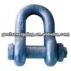 drop forged US type Dee shackle