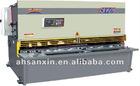 QC12K series CNC hydraulic pendulum plate shearing machine