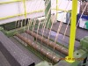 continuous upcast machine for copper rod