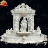 stone hand carving statue warter fountain wm0016