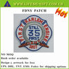 CUSTOM LOGO EMBROIDERED FDNY PATCH