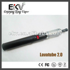Electronic hookah cigarete variable voltage battery lavatube 2.0 starter kit