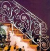 best price wrought iron stair railing design in china