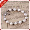 Fashion 6-7mm freshwater pearl+garnet pearl bracelet
