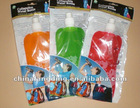 Collapsible custom water bottle bpa free(orange/green/pink)