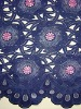 african handcut voile lace fabric TL0033