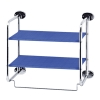 H3-0007-B 2-tier Wall shelf ,wall cube shelf,bathroom shelf