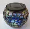 Solar glass light for Garden, Home light