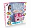 Free Shipping Doll kitchen set toy