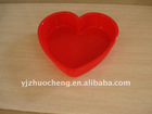 Love shape cake mould silicon