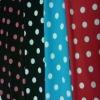 polka dot nylon spandex swimming fabric