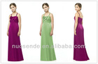 Bridesmaid Dresses Satin Dress with weaved front junior bridesmaid dresses