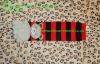 kids knitting pattern striped knee high five toe socks with bear jacquard