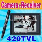 2.4GHz Wireless Pen Camera DVR MP4 N103/P103