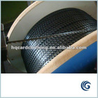 Metallic card wire for carding machine
