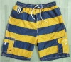 MEN'S WOVEN BEACH SHORTS