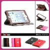 Best Price 360 rotating PU leather case for Mini iPad PD701
