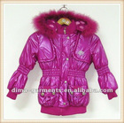 Hood Padded Girls Winter Clothing