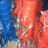PVC layflat hose with camlock coupling