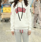2011 autumn for promotional ! OEM price women's fashion sports wear with printed