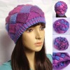 2012 latest style ladies knitted fashion hat