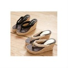 S88B8-9 2011 in the summer of the new slope with the cool casual rattan slippers flip flops