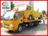 JAC flat bed wrecker towing truck