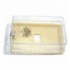 Thermostat Guard with Heavy Duty Lock and Key, Made of Plastic
