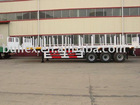 tri-axles low bed semi trailer