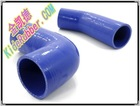 89mm-76mm Straight Reducer silicone hose coupler Radiator/red/blue/black