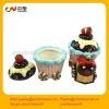 creative ceramic ice cream candle holder