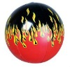 Infltable glow beach ball