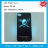 PC-41 NEW Sense Flash light Case Cover for Apple iPhone 4 4S 4G LED LCD Color Changed